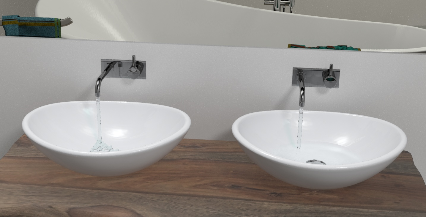 waschtisch gruppe mit wassersimulation 3dap 3d atelier pedron. Black Bedroom Furniture Sets. Home Design Ideas